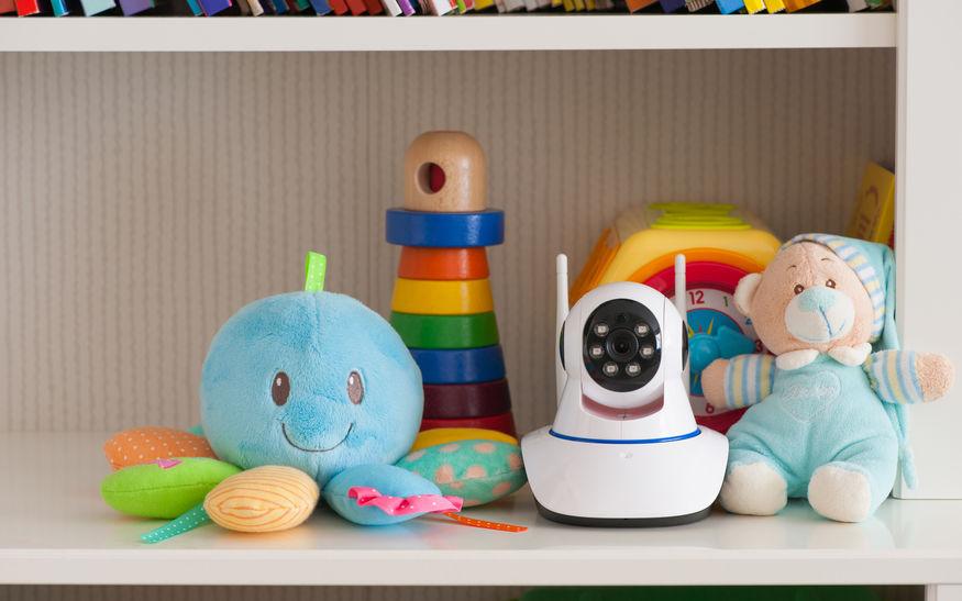 Cámara de vigilancia para niños