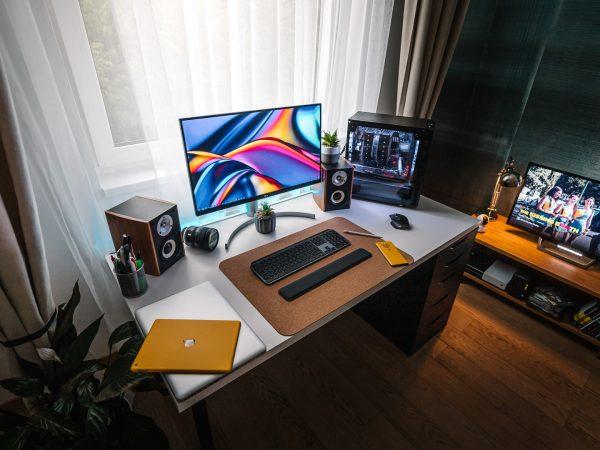 escritorio moderno para poco espcio
