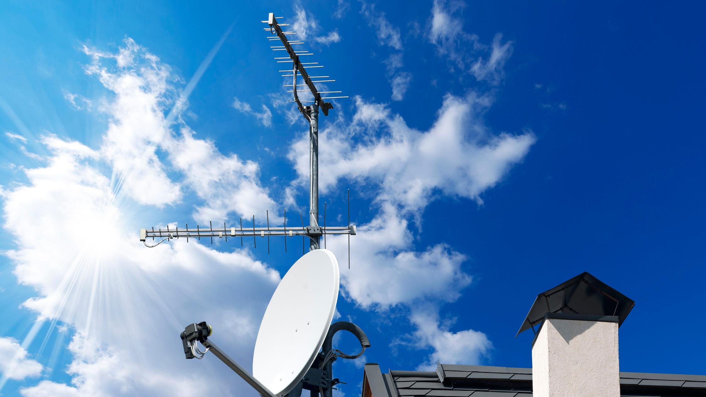 antenas de señal de tv