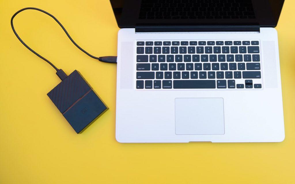 Disco duro conectado a Mac
