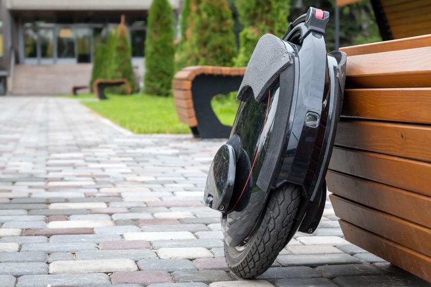 monociclo electrico en parque