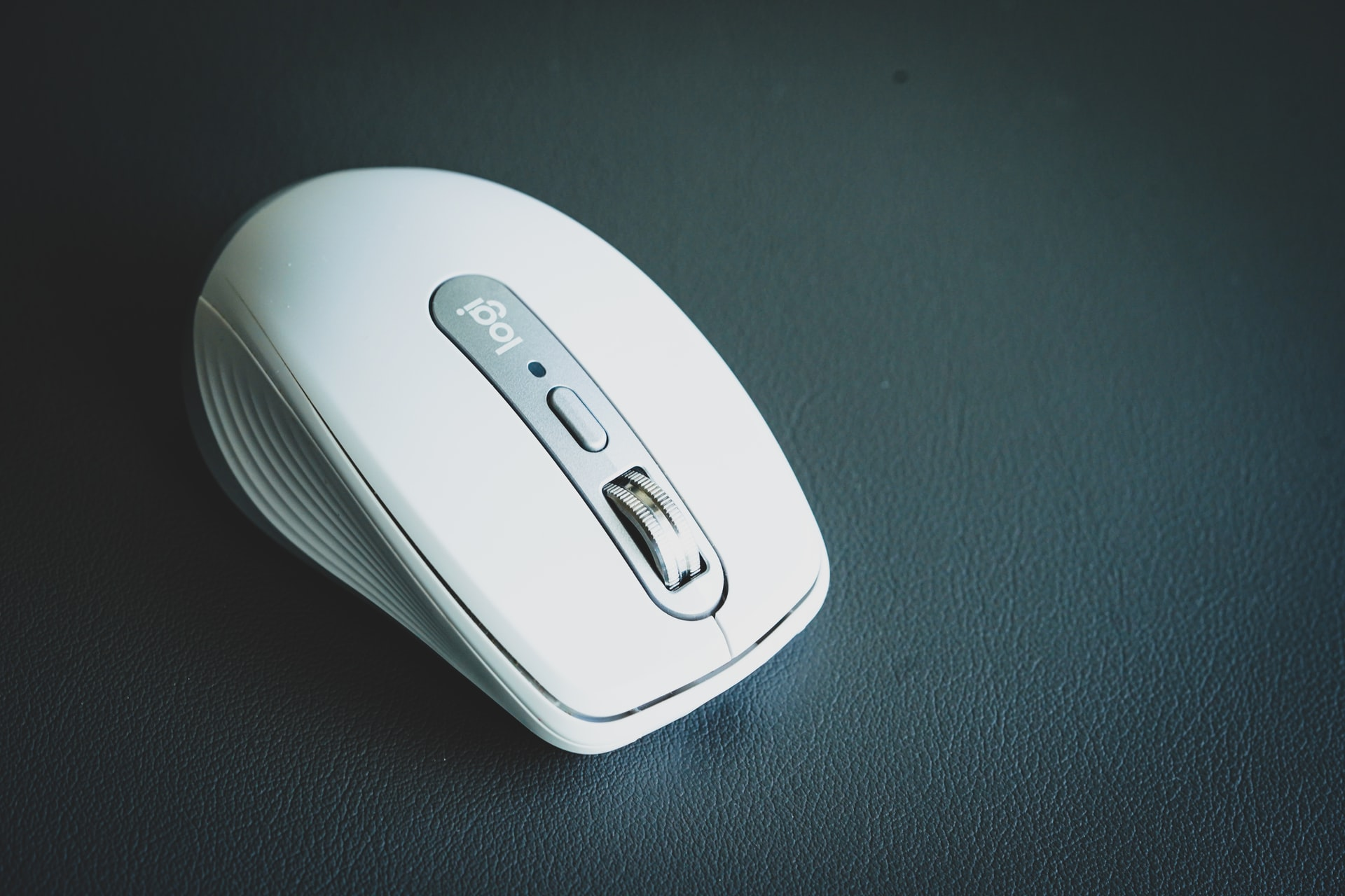 mouse blanco de logitech
