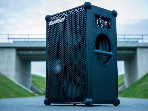 caja de equipo de sonido