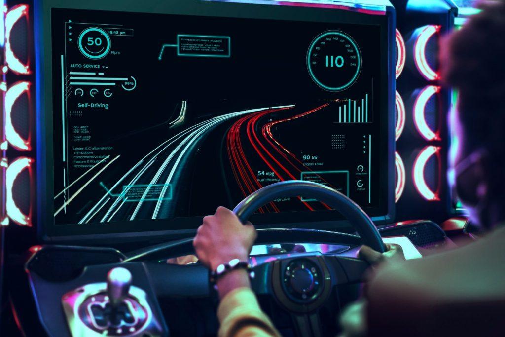 volante para videojuegos
