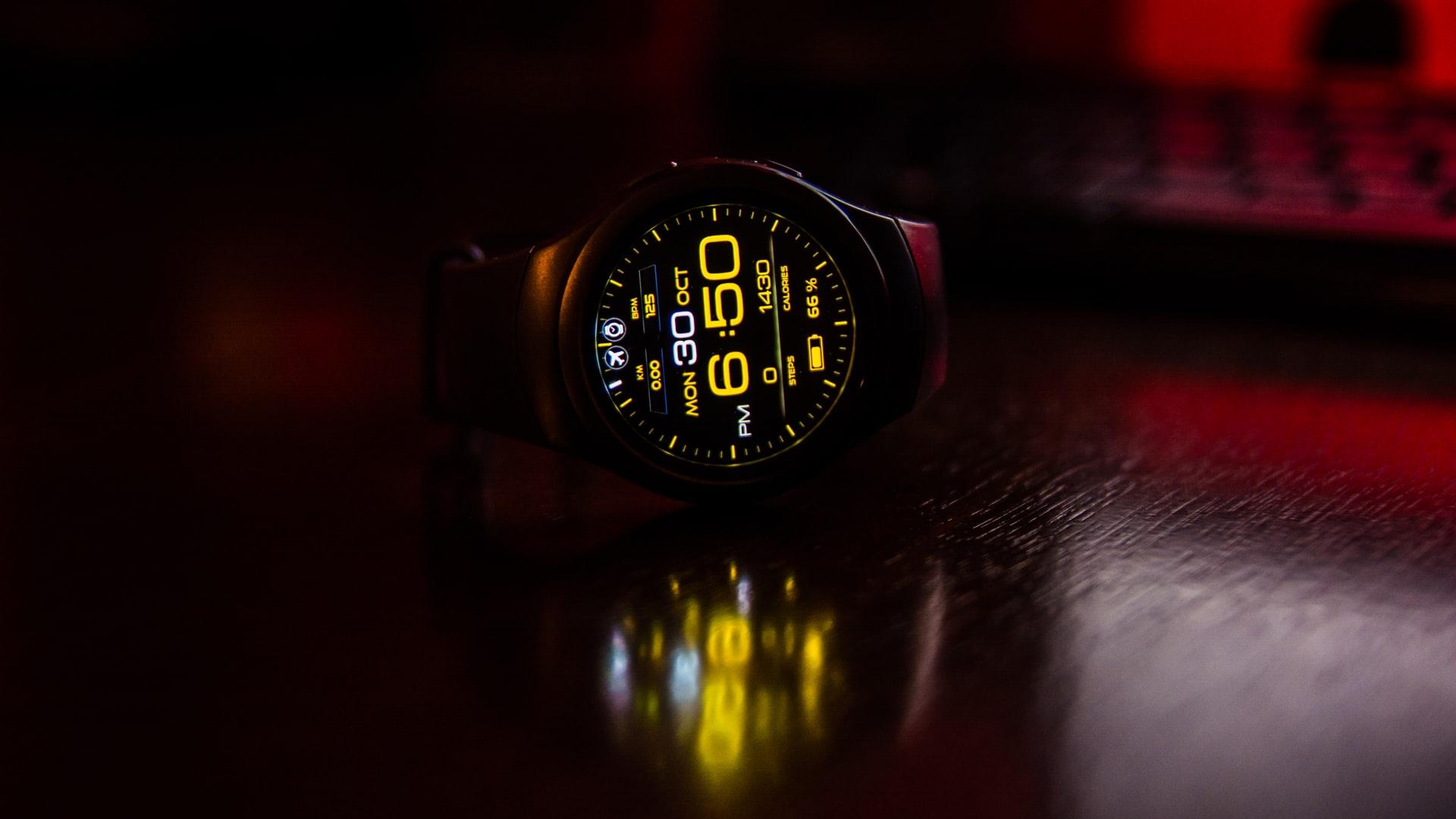 reloj con conteo