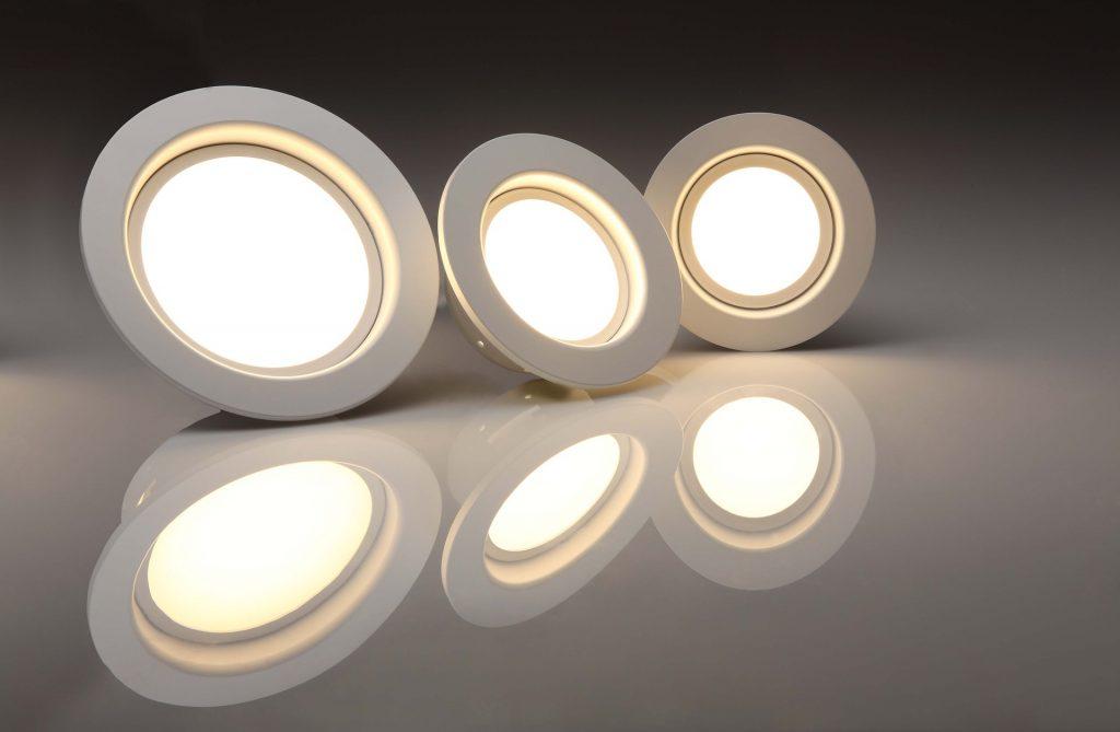 focos de luz led