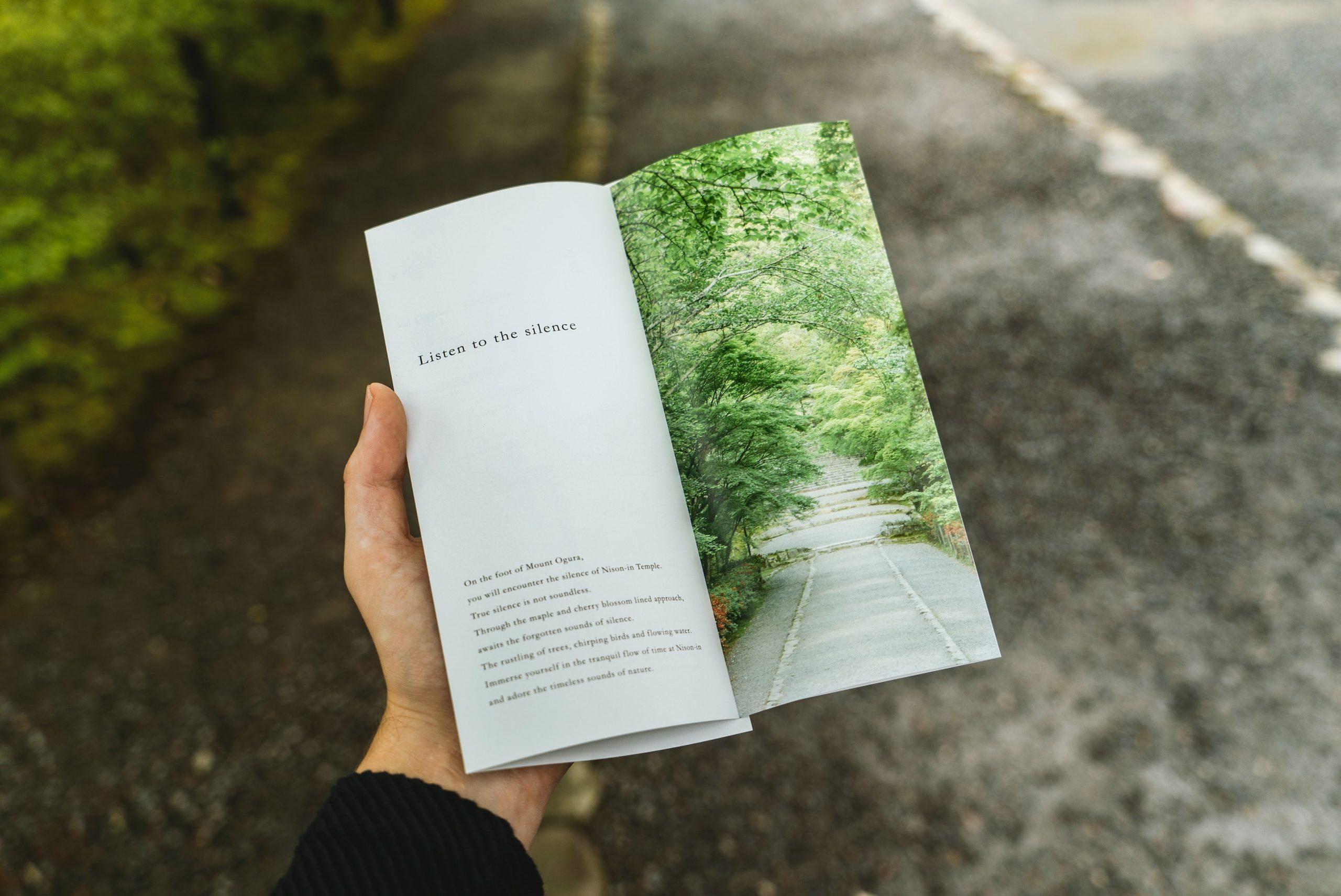 folleto impreso