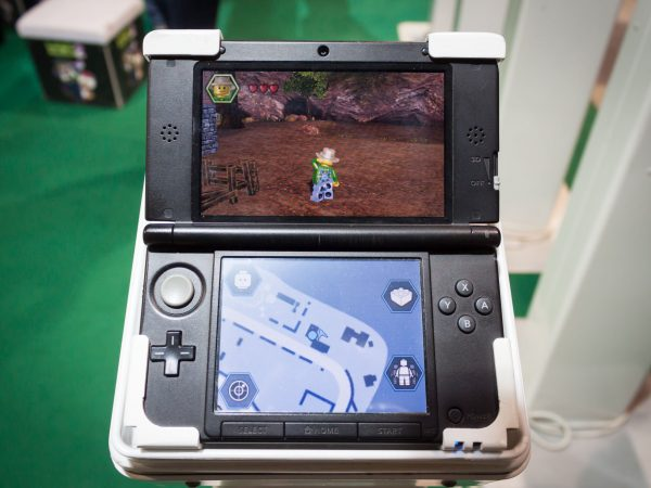 MILAN, ITALY – MARCH 14: Nintendo console on display at Cartoomics, event dedicated to comics, cartoons, cosplay, fantasy and gaming on MARCH 14, 2014 in Milan