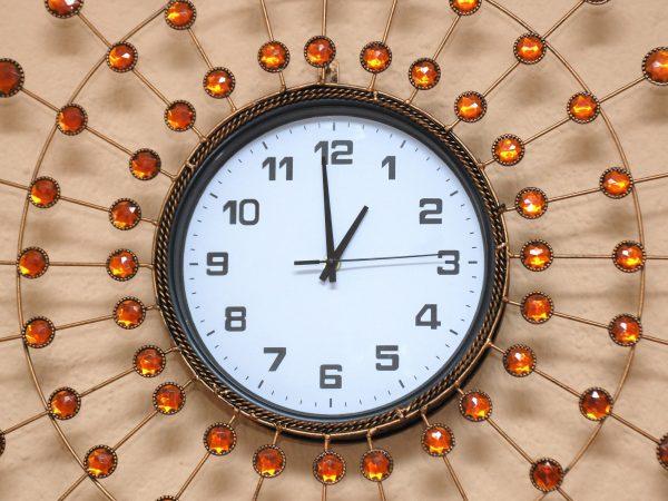 19960730 – pearl wall clock