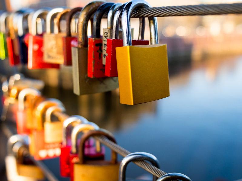 Candados de llave