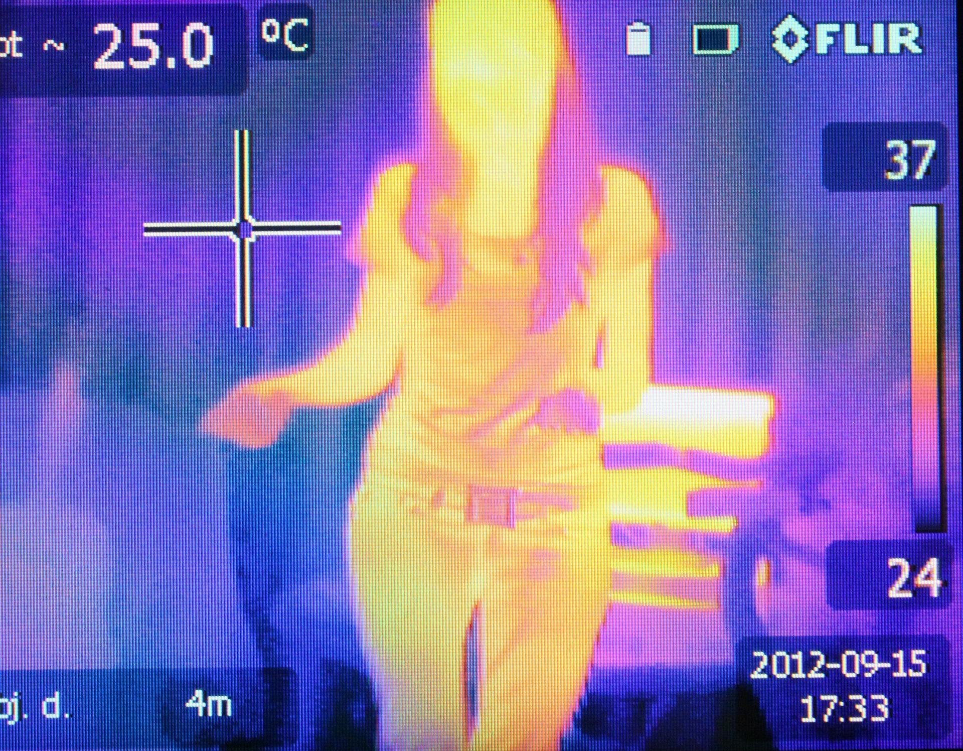 Camara termográfica