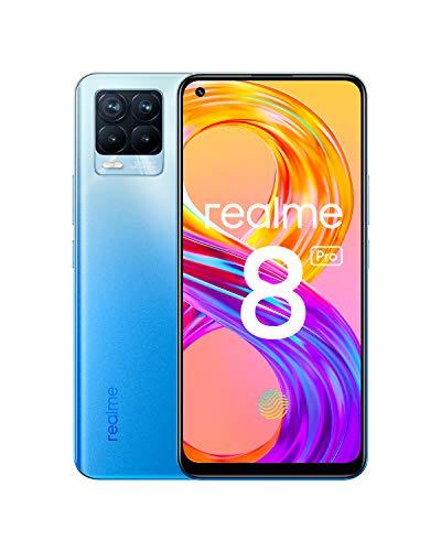 realme 8 Pro Smartphone Libre, Cámara cuádruple Ultra de 108 MP, Pantalla completa AMOLED superior de 6,4