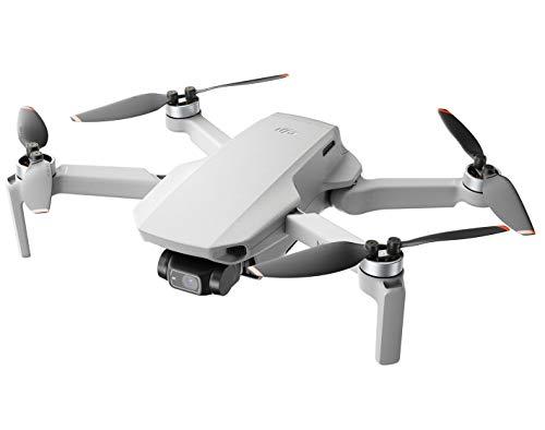 DJI Mini 2 - Ultraligero y Plegable Drone Quadcopter, 3 Ejes Gimbal con Cámara 4K, Foto 12MP, 31 Minutos de Vuelo, OcuSync 2.0 HD Transmisión de Vídeo, Sin Tarjeta, Sin Care Refresh