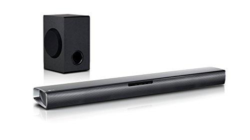 LG SJ2 - Barra de sonido inalá (2.1 channels, 160 W, 60 W, 10 cm, 100 W, Inalámbrico y alámbrico)
